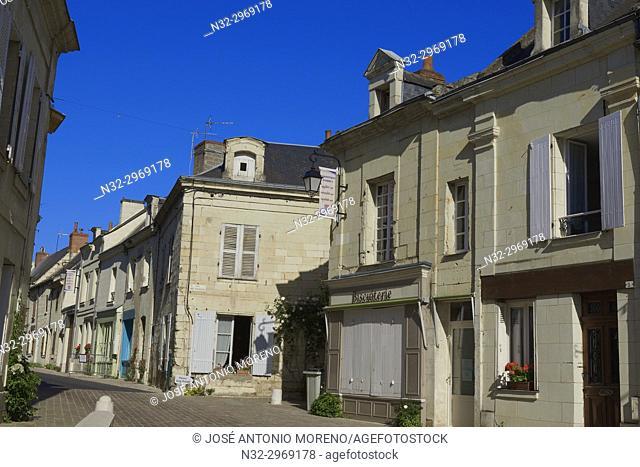 Anjou, Fontevraud l'Abbaye, Maine-et-Loire department, Pays de la Loire, Loire Valley, UNESCO World Heritage Site, France, Europe