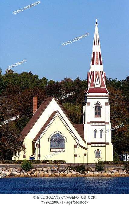 St. James' Anglican Church - Mahone Bay, Nova Scotia, Canada