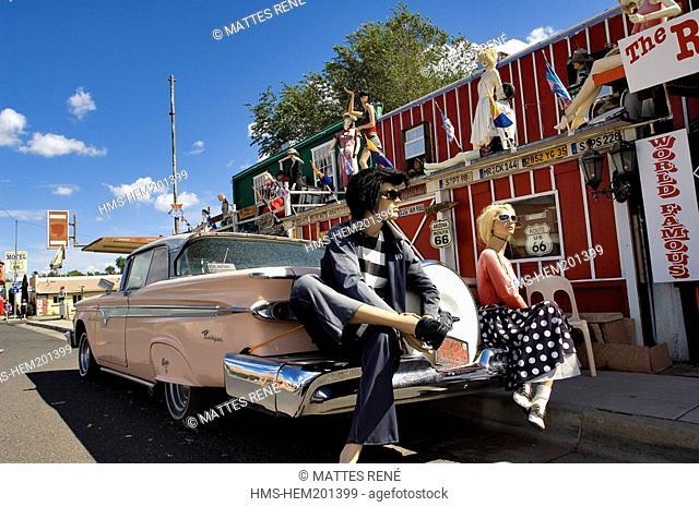 United States, Arizona, Route 66, Seligman