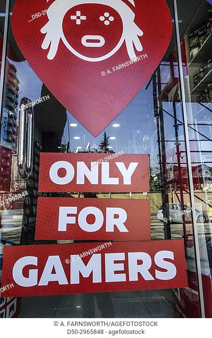 TIRANA, ALBANIA Store for gamers