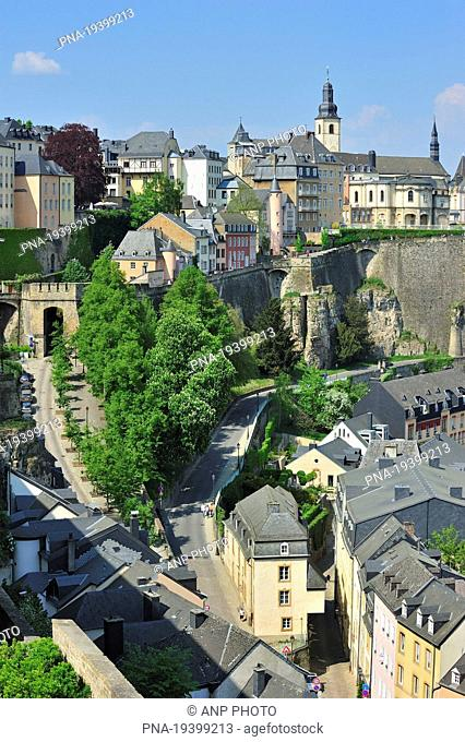 Haute Ville, Luxemburg, Luxemburg, Luxembourg, Europe