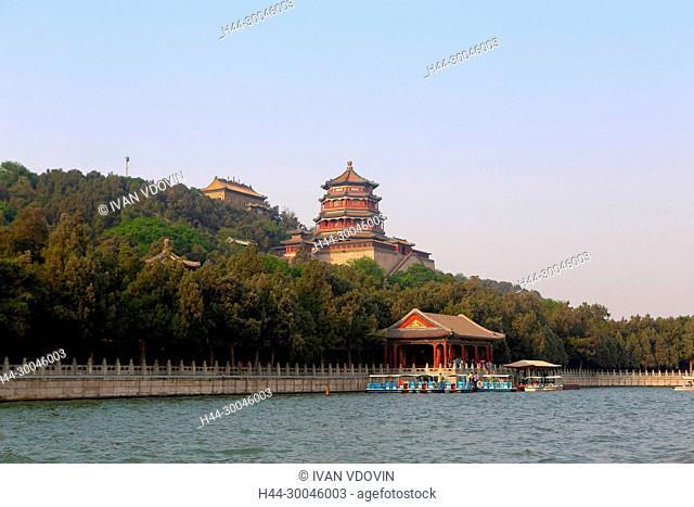 Summer palace, Kunming Lake, Beijing, China