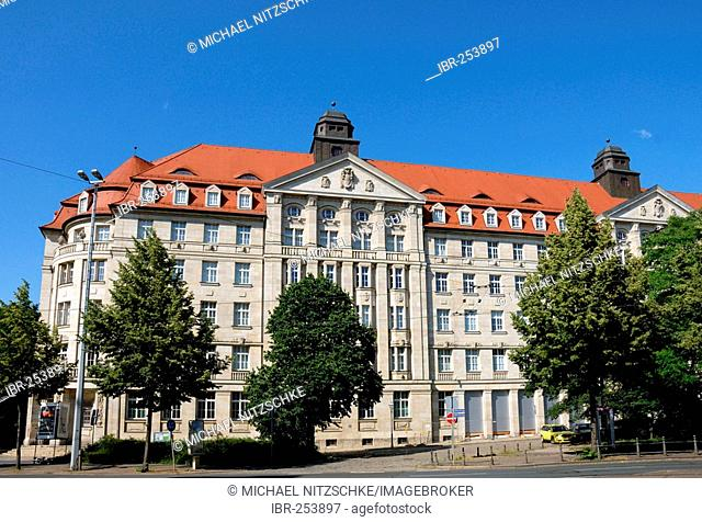 Former building of the Ministry for State Security, Leipzig, Saxony, Germany