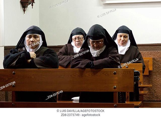 convent of the madres carmelitas. fontiveros