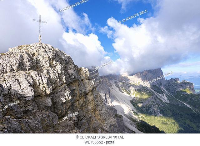 Piz Somplunt, Badia, Dolomites, South Tyrol, Italy