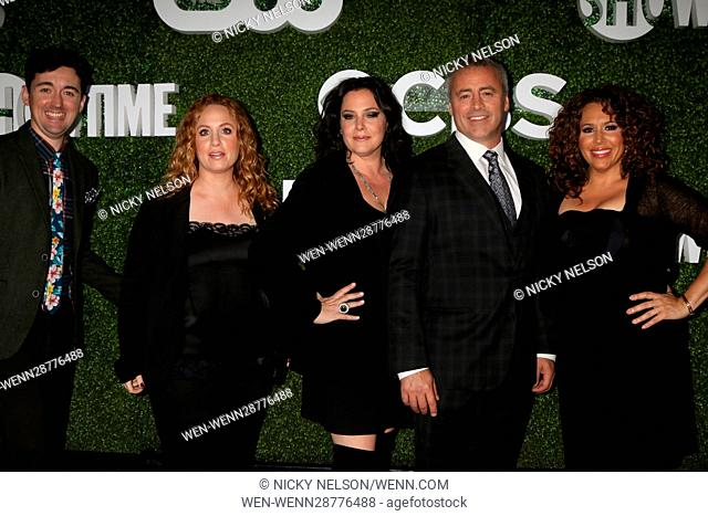 CBS, CW, Showtime Summer 2016 TCA Party at the Pacific Design Center on August 10, 2016 in West Hollywood, CA Featuring: Matt Cook, Jessica Chaffin, Liza Snyder