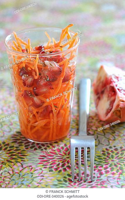 Carrot and anise salad