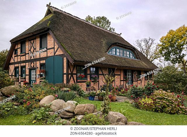Gross Stresow ist ein kleiner Ort an der Stresower Bucht bei Lauterbach und Putbus
