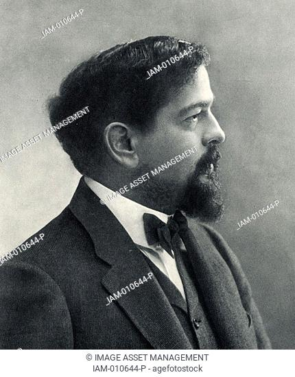 Achille Claude Debussy 1862-1919 French composer  From a photograph by Nadar, pseudonym of Gaspard-Felix Tournachon 1820-1910