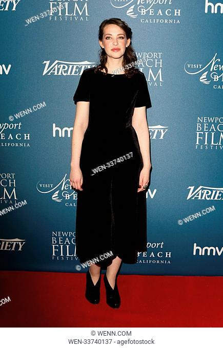 Newport Beach Film Festival - annual honours at Rosewood London, Holborn, London Featuring: Annes Elwy Where: London, United Kingdom When: 15 Feb 2018 Credit:...