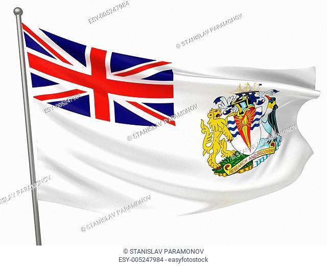 British Antarctic Territory National Flag