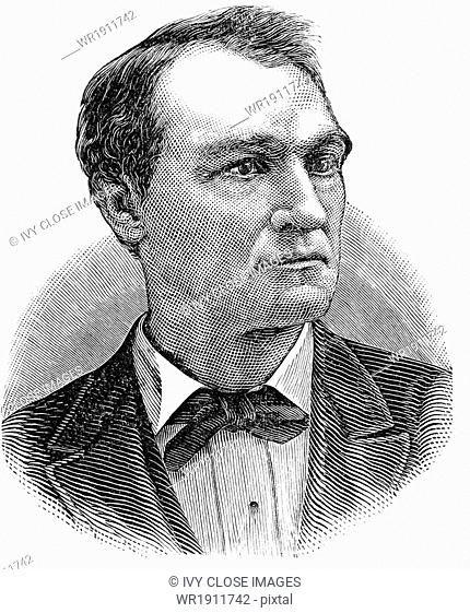 John Griffin Carlisle (1835-1910) was an American statesman, a U.S. Representative from Kentucky from 1877-1890, speaker of the House from 1883 to 1889, U
