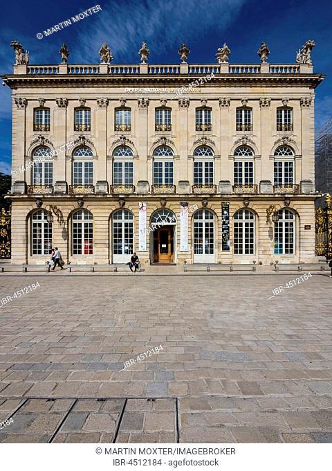 Lorraine National Opera, Opera National de Lorraine, Place Stanislas, Nancy, Meurthe-et-Moselle, Lorraine, France