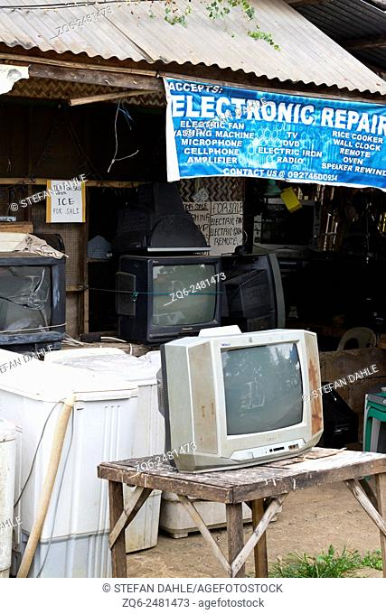 Electronic Repair Shop in Puerto Princesa, Palawan, Philippines