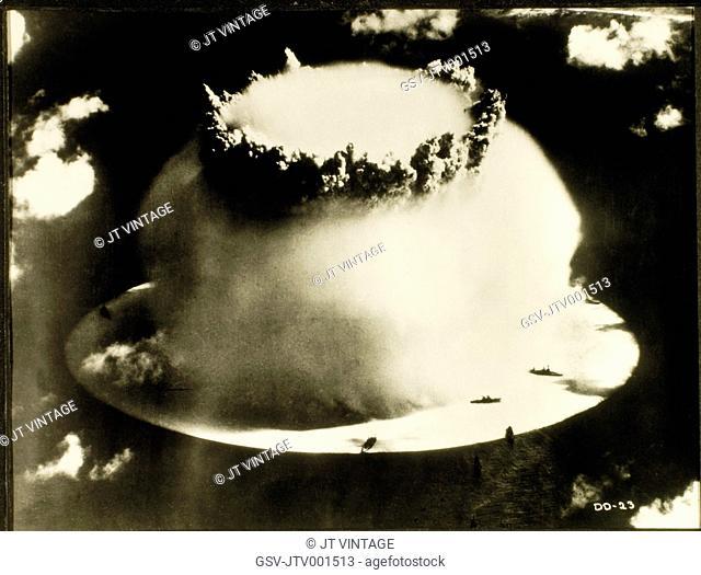 Atomic Bomb Test, Bikini Atoll, 1946