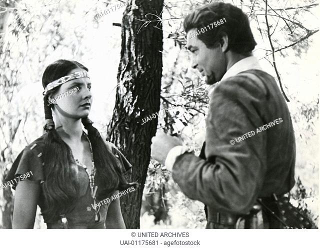 Captain John Smith And Pocahontas, , Captain John Smith And Pocahontas, , Szenenbild