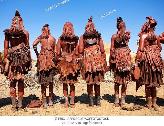 Elola village, Muhimba tribe (close to Himba)