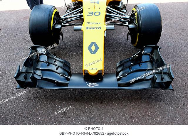 25.05.2016 - Renault Sport F1 Team RS16, detail