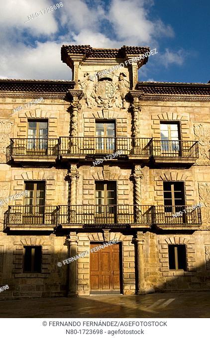 Palacio de Camposagrado 17th century, Aviles, Asturias, Spain