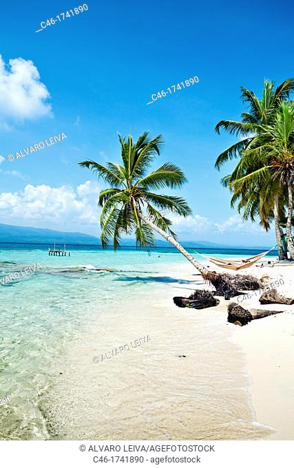 Dupasunika island, San Blas Islands also called Kuna Yala Islands, Panama