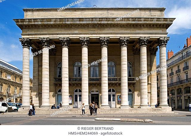 France, Cote d'Or, Dijon, the theater