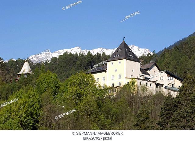 Castle Starkenberg in Tarrenz Tyrol Austria