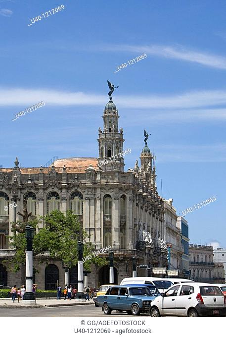 Cuba, Havana, Teatro Nacional, National theater