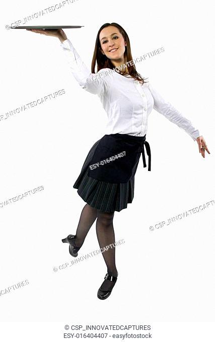 Dancing Waitress
