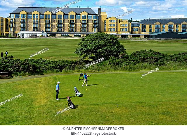 Old Course Hotel, St. Andrews Links Golf Course, St Andrews, Fife, Scotland, United Kingdom
