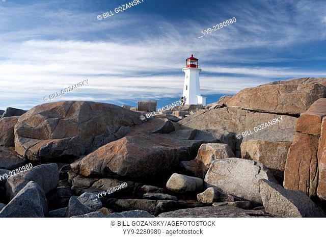 Peggy's Point Lighthouse - Peggy's Cove, Nova Scotia; Canada