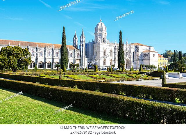 Mosteiro dos Jéronimos (Monastery of the Hieronymites), Belem, Lisbon, Portugal, Unesco World Heritage Site