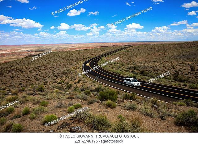 Painted Desert National Park, Arizona, USA