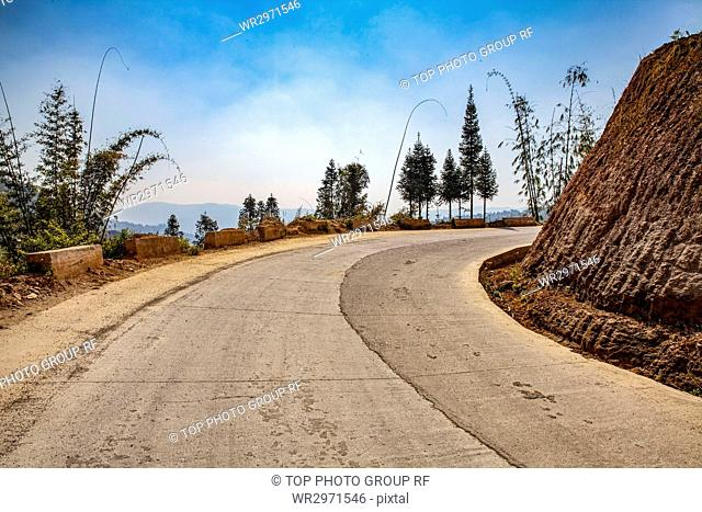 Scenery and Cement Road