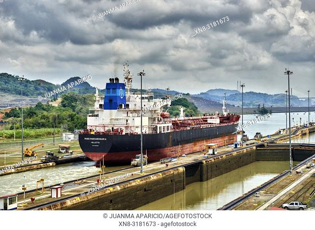 Canal de Panama, Panama City, Republic of Panama, Central America, America