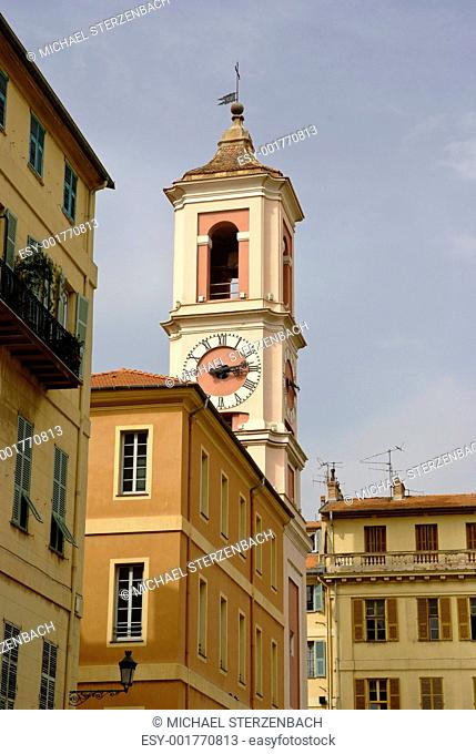 Pink church, Nice, French Riviera