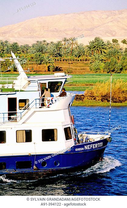 Cruise on river Nile. Egypt