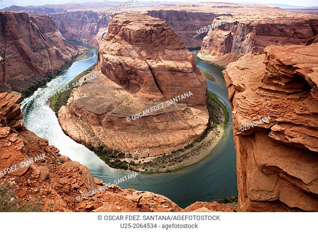Horseshoe Bend Trail, Page, Arizona, USA