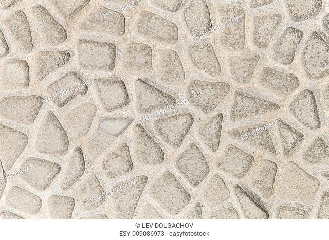background, design and texture concept - stone decorative tile texture