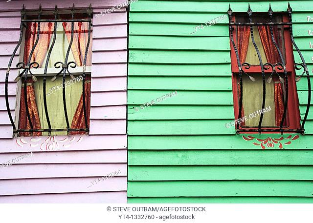 Colourful House Facade, Sultanahmet, Istanbul, Turkey