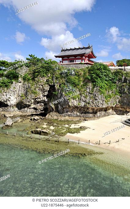 Naha, Okinawa, Japan, Naminoue Beach, the Naminoue Shrine