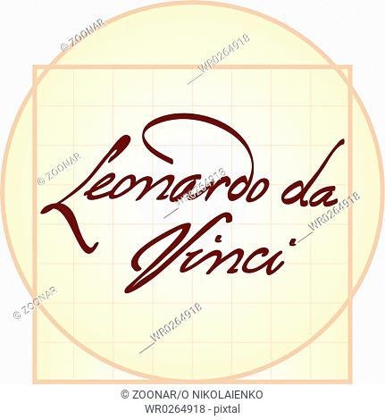 Leonardo da Vinci signature