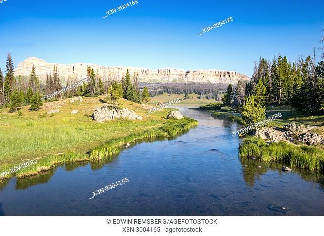 Brooks Lake CreekDubois, Wyoming. USA