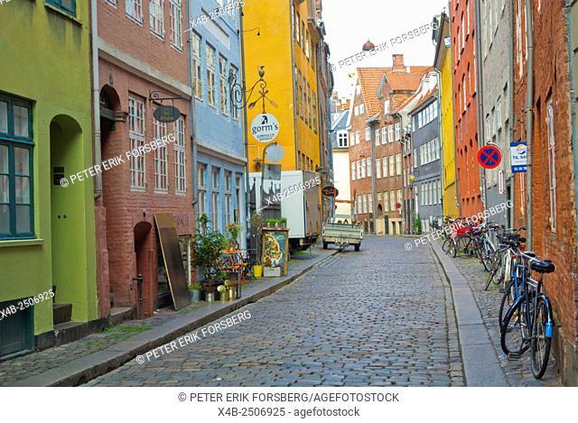 Magstræde, lane, Indre by, city centre, Copenhagen, Denmark