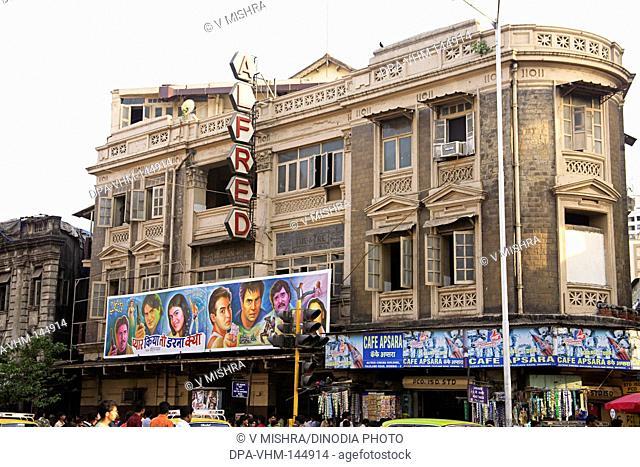 Alfred cinema hall ; Patthe bapurao road ; Grant road ; Bombay now Mumbai ; Maharashtra ; India