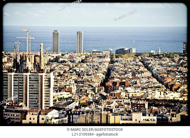 Cityscape. Barcelona, Catalonia, Spain