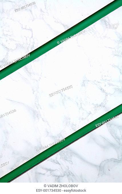 Background, Green Parallel Diagonal Strips