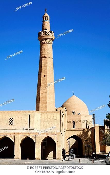 The historic Masjid-i Jami, Friday Mosque, at Nain, Iran