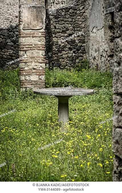 Pompeii, archeological site, Italy