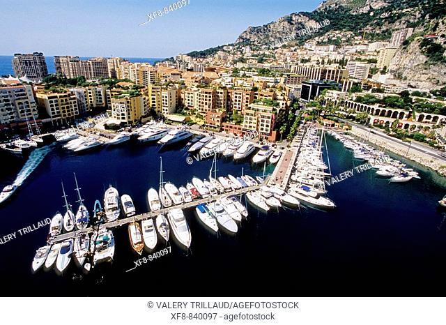 Monaco, Monte Carlo, Fontvieille, Principaute de Monaco, French Riviera, cote d'azur, Europe