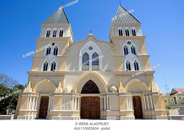 Dominican Republic - Centre - The Cibao - Santiago - The old center - Cathedral of Santiago Apostol